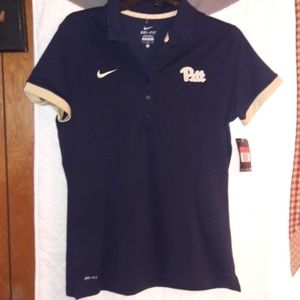 New Nike Pitt Women's Polo Shirt Size Large